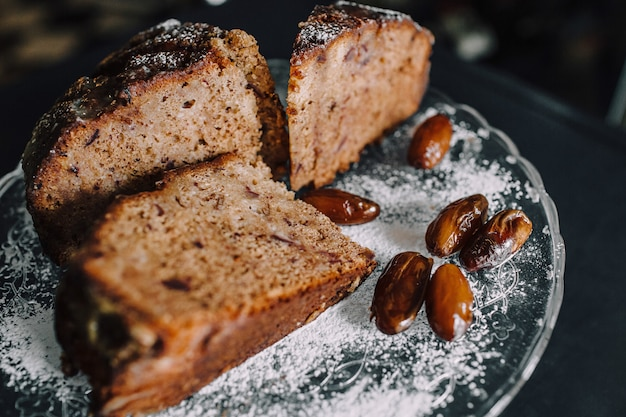 Gâteau au chocolat aux dattes bouchent