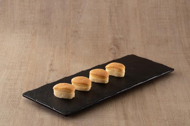 Gâteau au fromage dessert de style japonais sucré