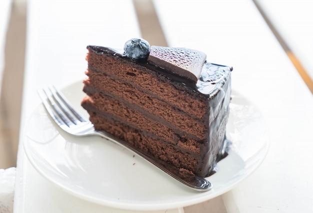 Gâteau au fudge au chocolat