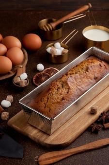 Gâteau au pain d'épices traditionnel