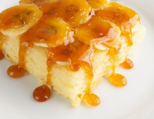 Gâteau aux bananes au sirop de caramel