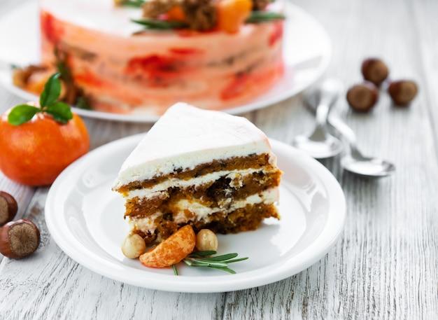 Gâteau aux carottes sucré