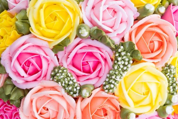 Gâteau aux fleurs
