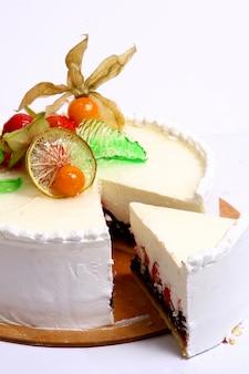 Gâteau aux fruits de dessert