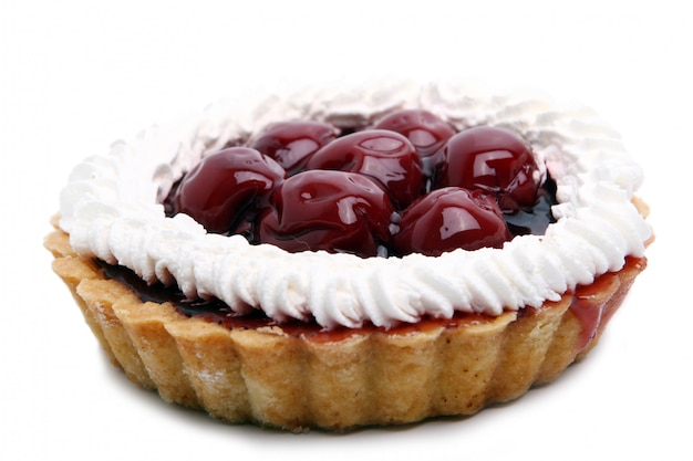 Gâteau aux fruits frais et savoureux
