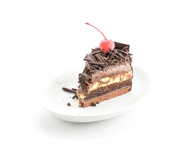 Gâteau aux glaces au chocolat