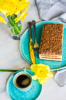 Gâteau buscuit au chocolat