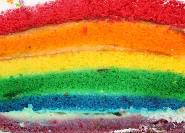 Gâteau coloré
