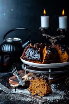 Gâteau à la confiture et au chocolat