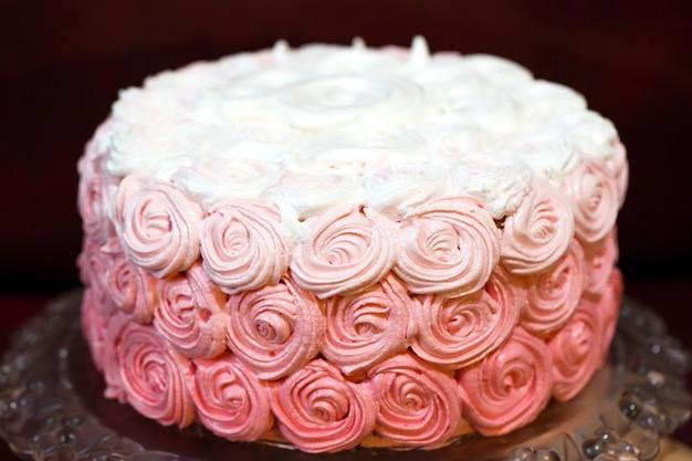 Gâteau à la crème de fête
