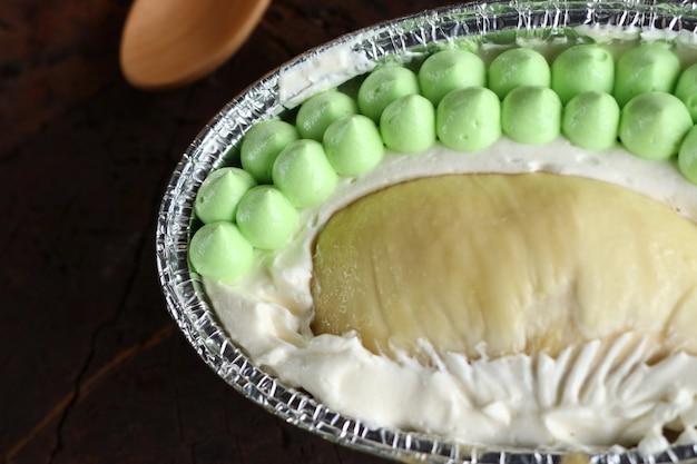 Gâteau durian
