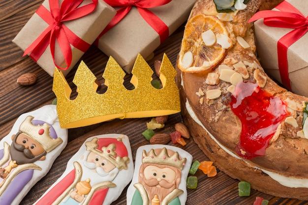 Gâteau epiphanie roscon de reyes