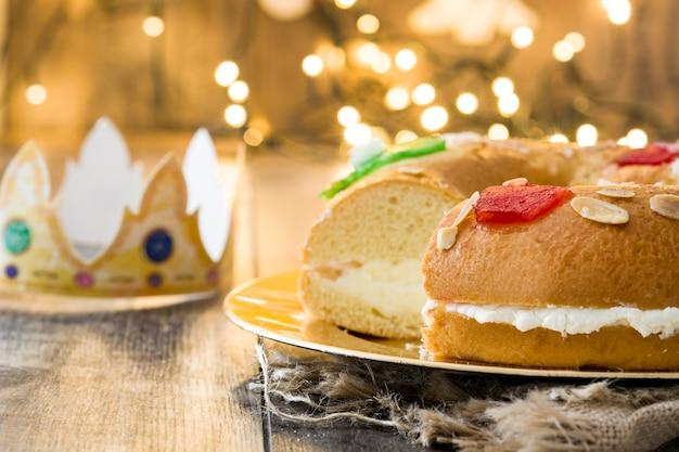 Gâteau épiphanie typique espagnol