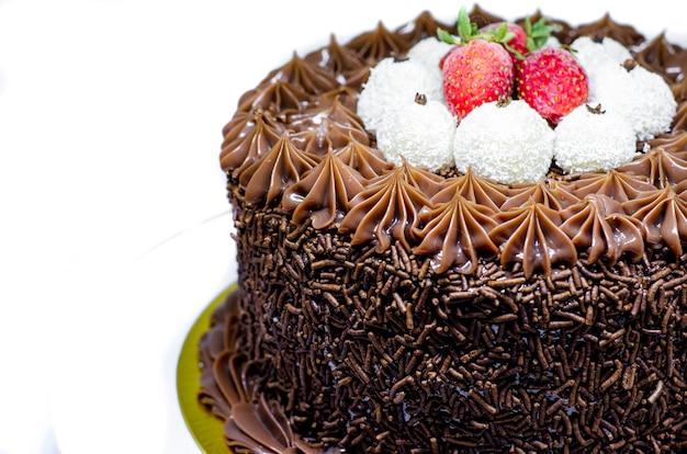 Gâteau gourmet brésilien avec