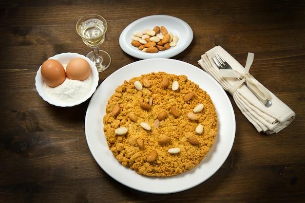 Gâteau italien aux amandes