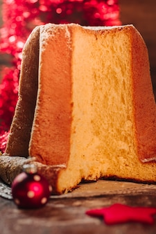 Gâteau italien pandoro