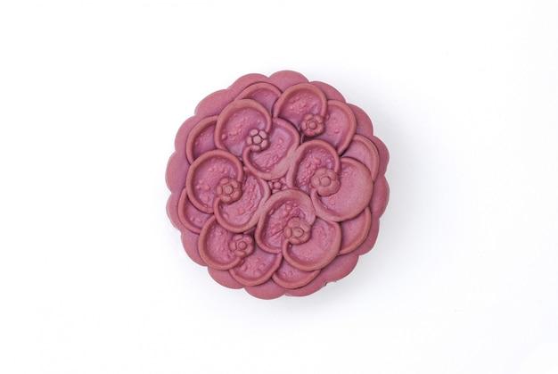 Gâteau de lune au yam japonais