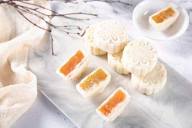 Gâteau de lune glace festival mi-automne