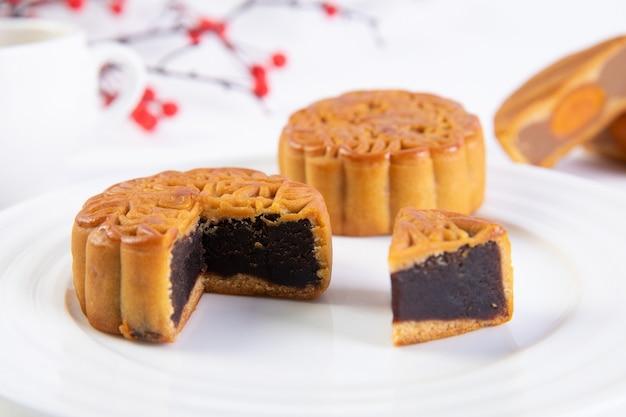 Gâteau de lune traditionnel festival de mi-automne