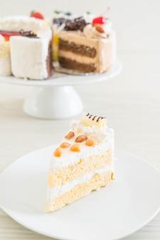 Gâteau de macadamia sur plaque