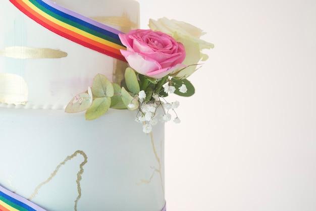 Gâteau de mariage lgbt