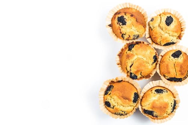 Gâteau muffin aux mûres