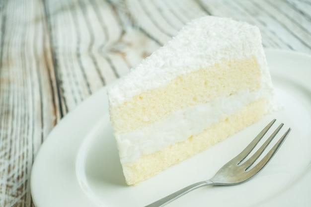 Un gâteau à la noix de coco