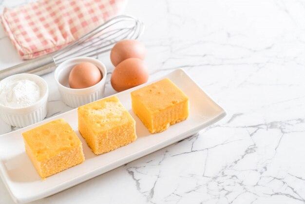 Gâteau d'orange fait maison