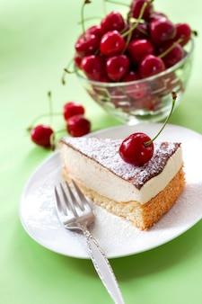 Gâteau soufflé au lait