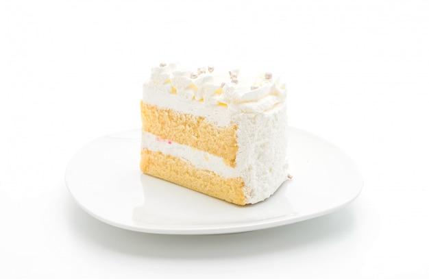 Gâteau à la vanille