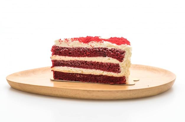 Gâteau de velours rouge