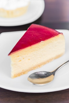 Gâteaux au fromage aux fraises