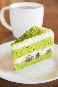 Gâteaux au thé vert