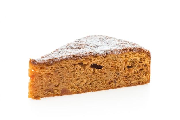 Gâteaux aux fruits isolés