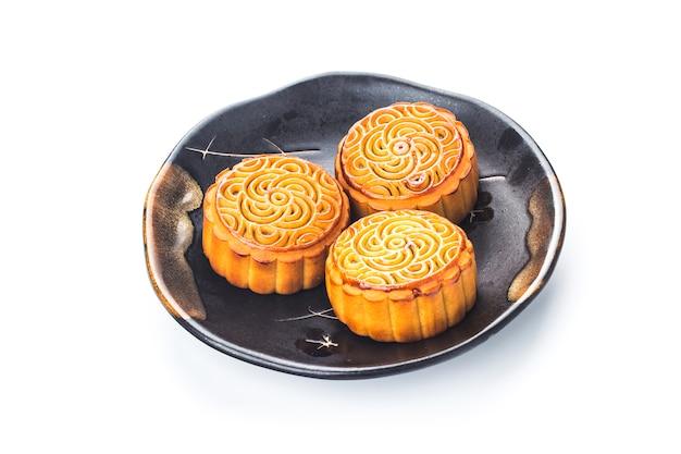 Gâteaux de lune pour la célébration du festival chinois de la mi-automne