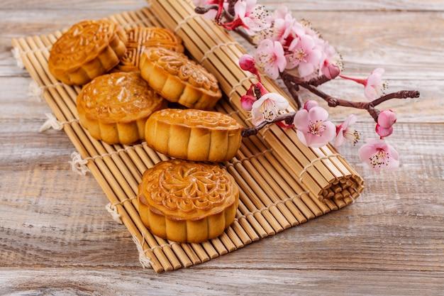 Gâteaux de lune traditionnels chinois