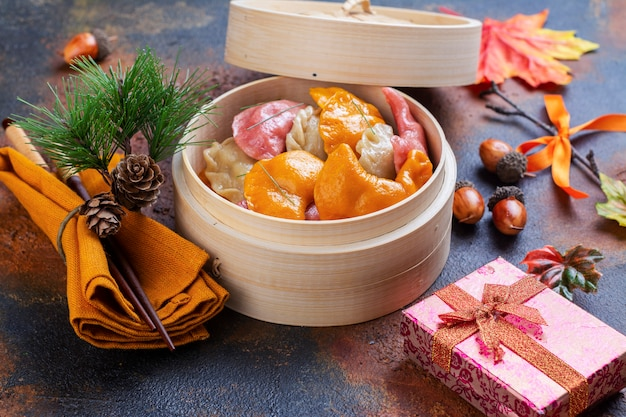 Gâteaux de riz songpyeon