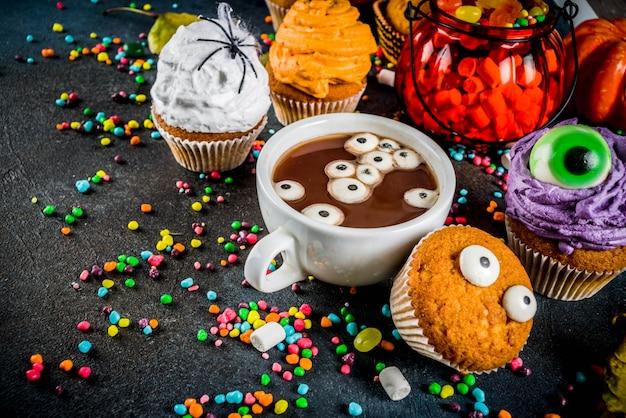 Des gâteries drôles pour halloween