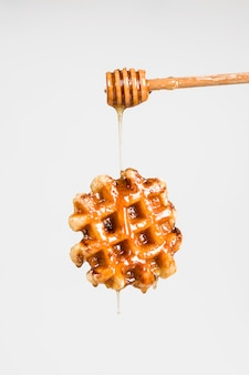 Gaufre au miel