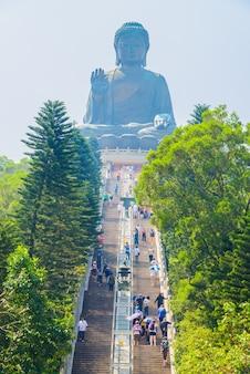 Géant statue de buddha