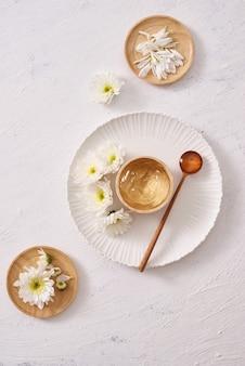 Gel apaisant à base de plantes naturelles extrait de thé vert naturel pour les soins de la peau
