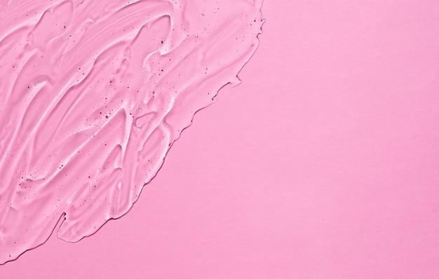 Gel cosmétique d'acide hyaluronique. crème transparente liquide cosmétique claire.