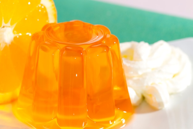 Gélatine à l'orange