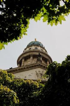 Gendarmenmarkt, cathédrale française de berlin, allemagne
