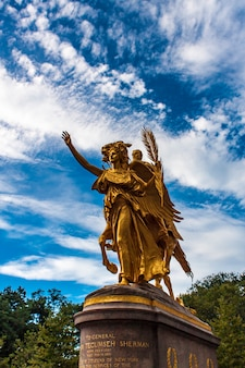 Général william tecumseh sherman monument à new york