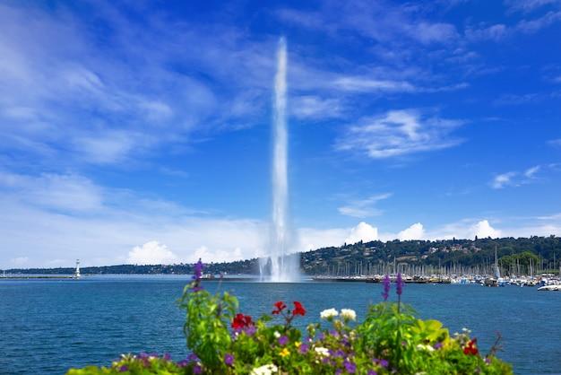 Geneve geneve water water jet d'eau suisse
