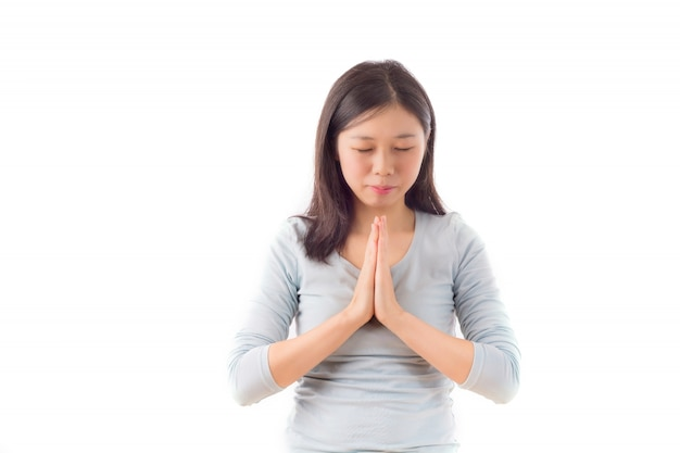 Les gens religion main souhaitant pureté
