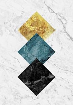 Géode de résine et art de marbre abstrait art fonctionnel comme la peinture de géode à l'aquarelle