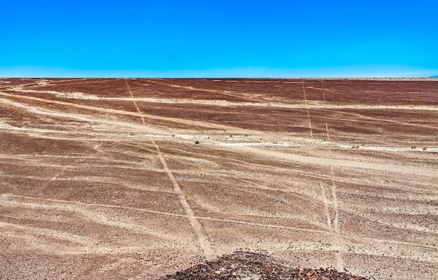 Géoglyphes et lignes de nazca au pérou