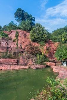 Le géopentre à yixing, jiangsu, province de chine